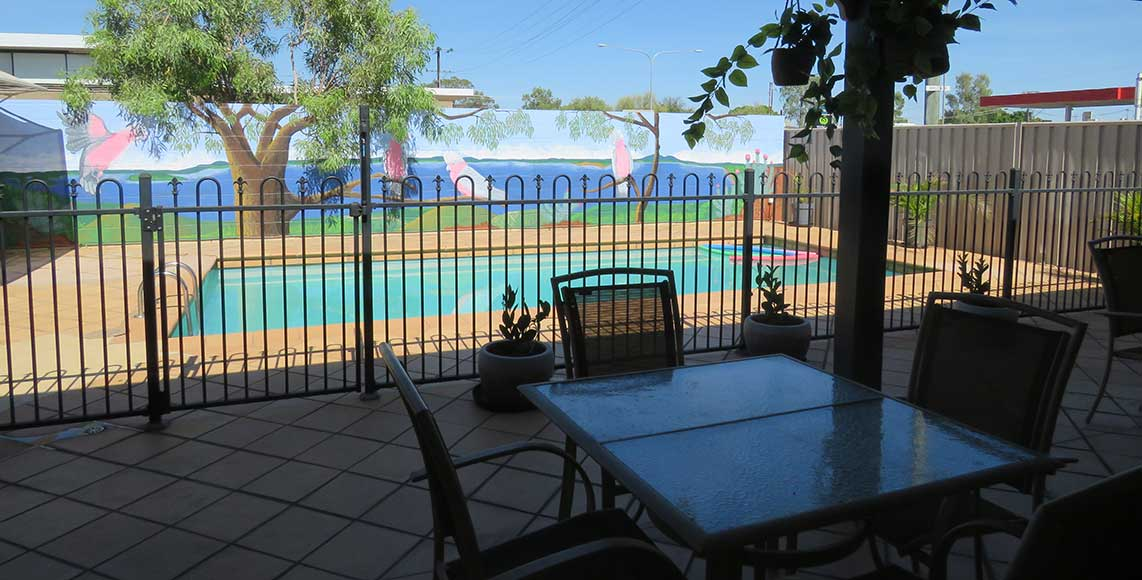 Mt Isa Motel Reception