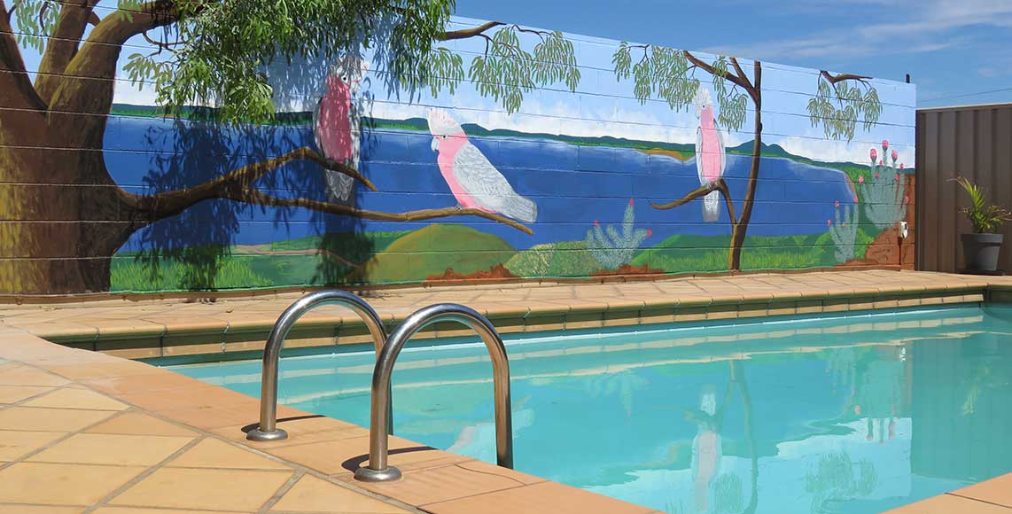 Swimming Pool Mt Isa Motel